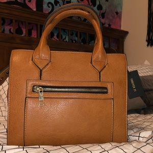Brand new brown faux leather purse